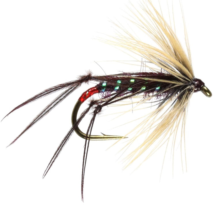 HOPPER CLARET FLIES