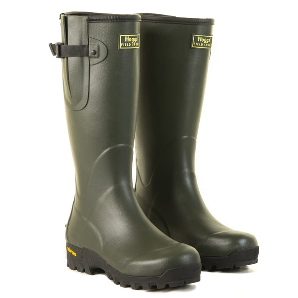 Hoggs of Fife Field Neoprene Lined Wellington Boots