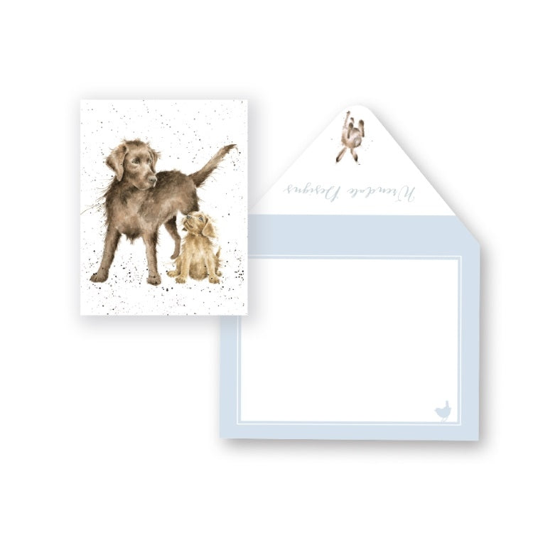 Wrendale Designs Puppy Love Miniature Card