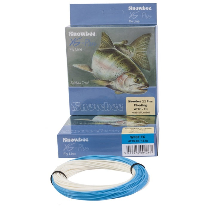 Snowbee WFFTC XS Plus Twin Colour Floating Fly Line