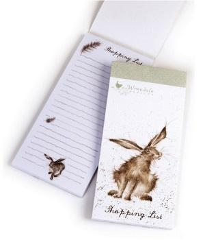Wrendale Designs Hare Raising Magnetic Shopping Pad