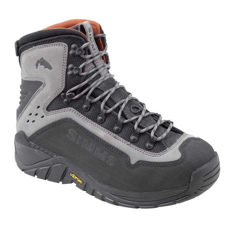Simms G3 Guide Vibram Sole Wading Boots - Steel Grey