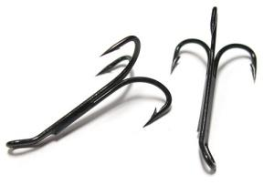 Partridge X2 Long Shank Out-point Treble Hooks