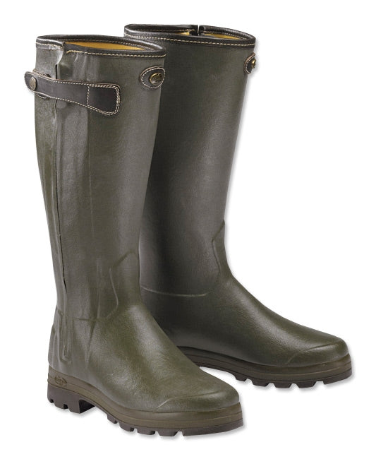 Le Chameau Chasseur Heritage Boot - Large Calf