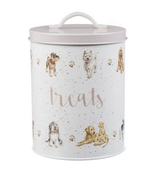 Wrendale Designs Dog Treat Tin