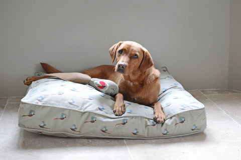 Sophie Allport Pheasant Pet Mattress