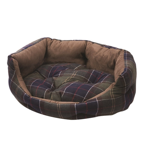 Barbour Luxury Dog Bed 35in