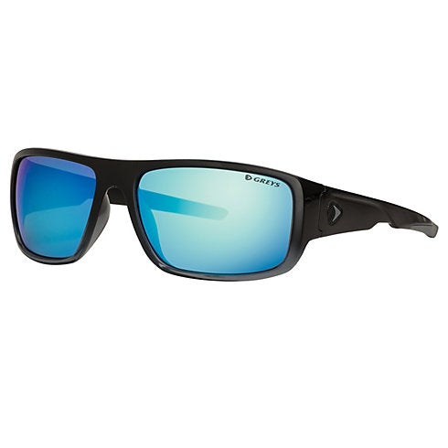 Greys G2 Sunglasses - Gloss Black Fade Frame Blue Mirror Lens