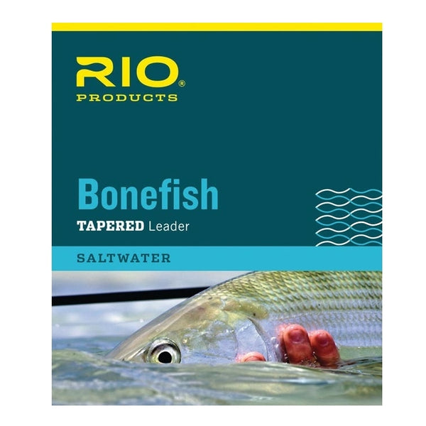 Rio Bonefish 10ft Tapered Leaders Triple Pack