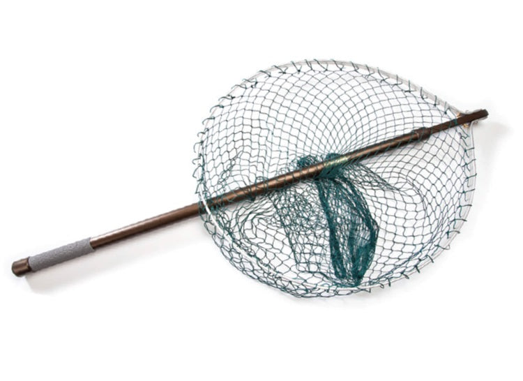 McLean Folding Round Head 16in Net with Telescopic Handle