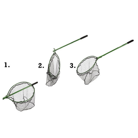 Snowbee Folding Game Net With Rubber Mesh