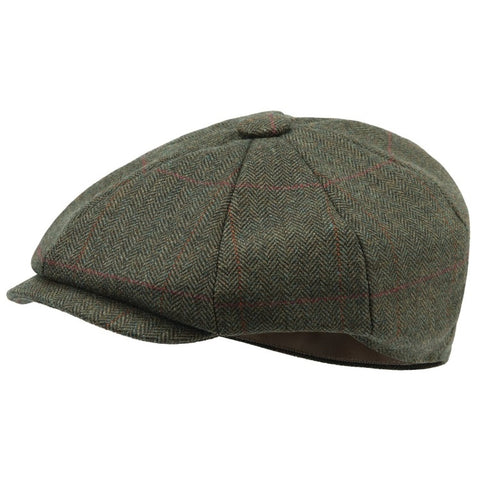 Schoffel Newsboy Cap - Windsor Tweed