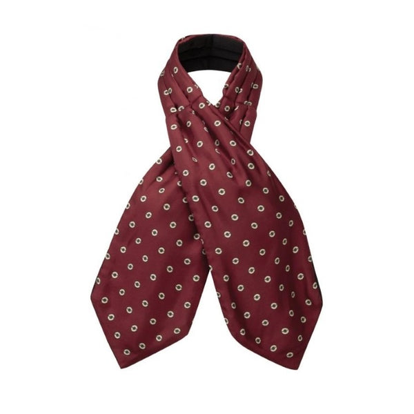 Schoffel Silk Shooting Cravat - Red