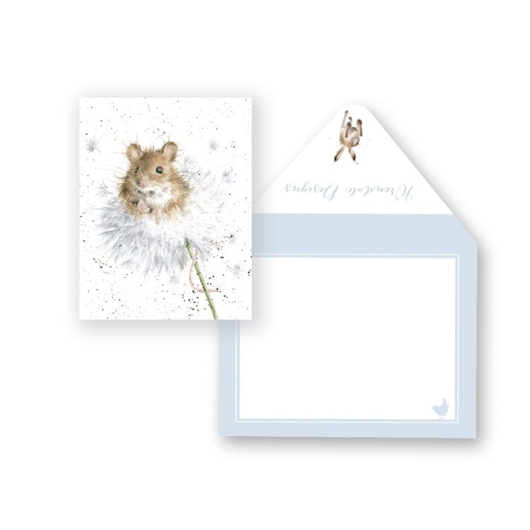 Wrendale Designs Dandelion Miniature Card