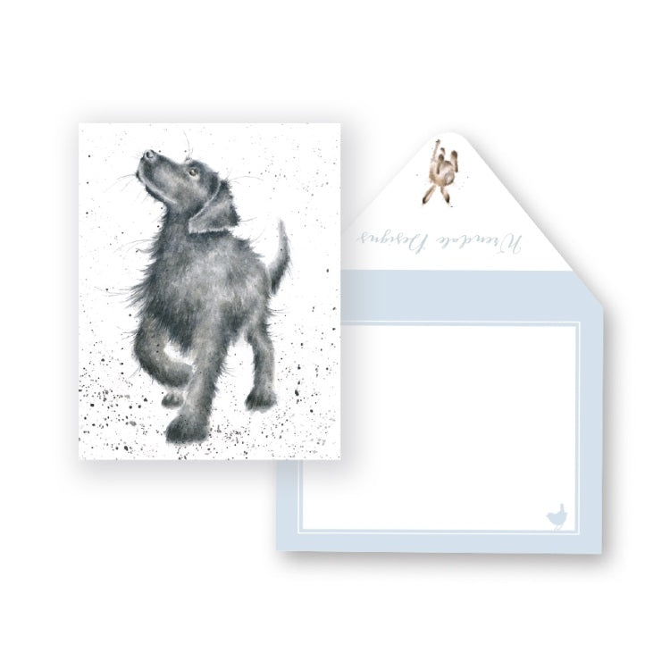 Wrendale Designs Walkies Miniature Card