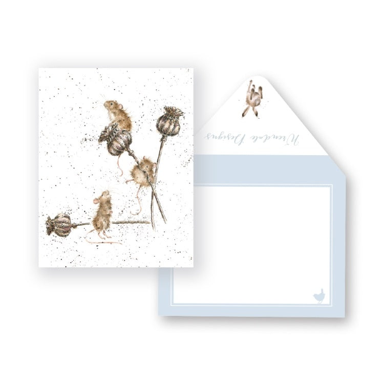 Wrendale Designs Country Mice Miniature Card