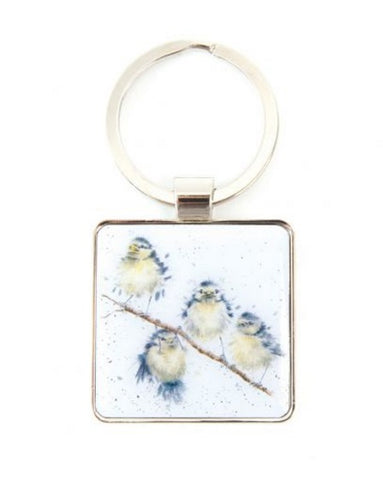 Wrendale Designs Hanging Out Keyring
