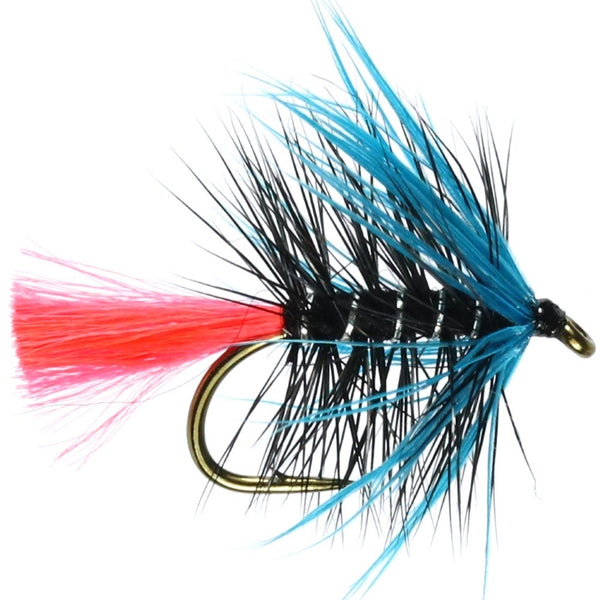 Blue Zulu Hackled Wet Flies