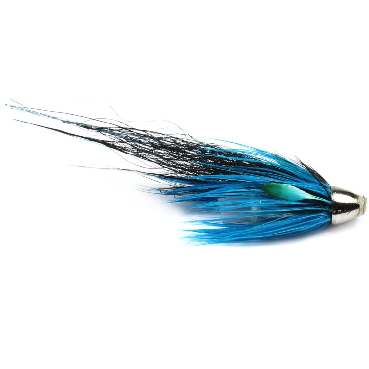 Blue Charm Crimp Tube Conehead Flies