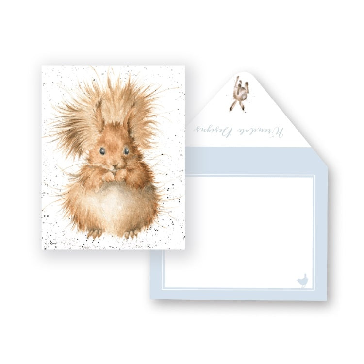 Wrendale Designs Redhead Miniature Card