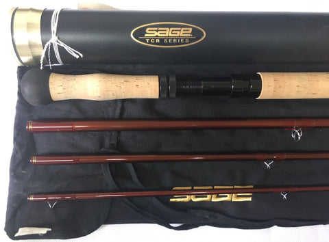 USED 15ft Sage TCR 10 Line 4pc DH Salmon Fly Rod (869)