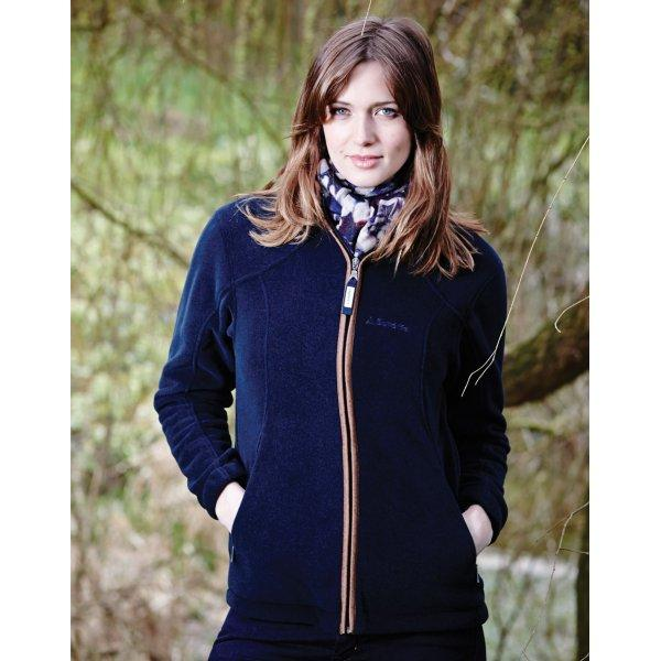 Schoffel Ladies Burley Fleece Jacket - Navy