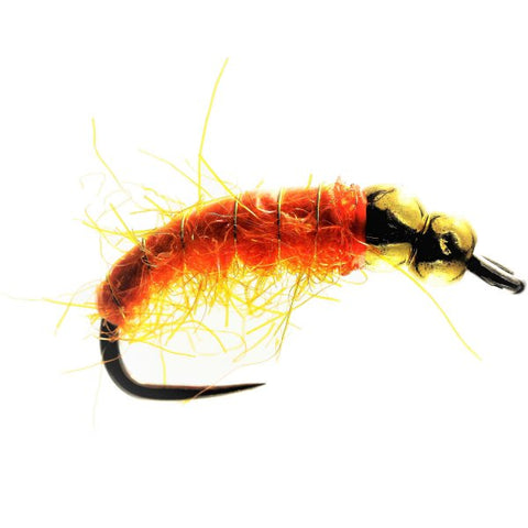 Highland Orange Bomb Tungsten Size 8 Flies