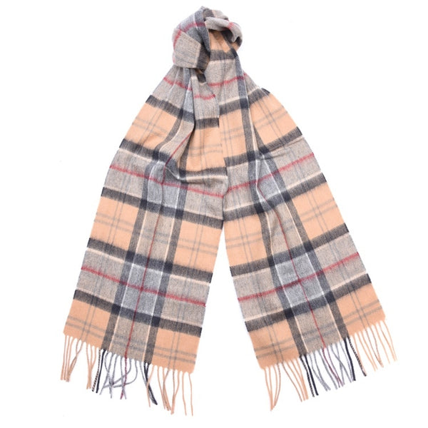 Barbour Merino Cashmere Dress Tartan Scarf