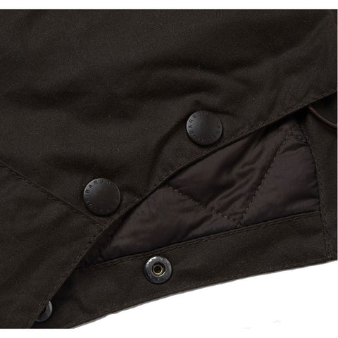 Barbour Waxed Cotton Storm Hood
