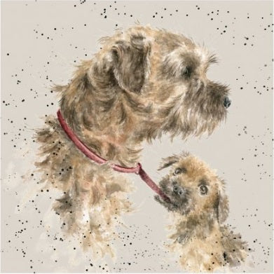 Wrendale Designs Border Terrier Card