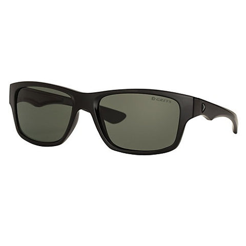 Greys G4 Sunglasses - Matt Black Frame Green/Grey Lens