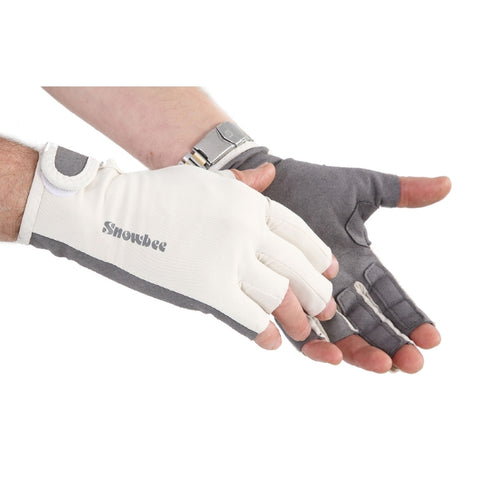 Snowbee Sun Gloves with stripping finger