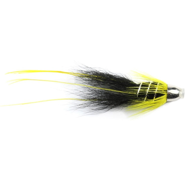 Black & Yellow Francis Mini Conehead Flies