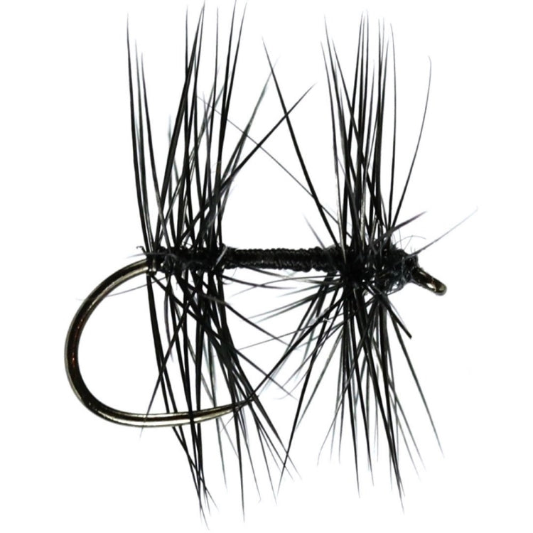 Knotted Midge Hackled Dry Flies