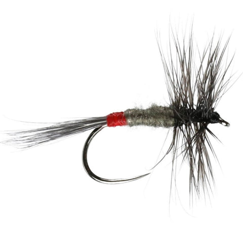 Iron Blue Dun Hackled Dry Flies