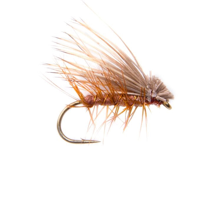 Elk Hair Caddis Brown Flies