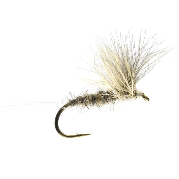 Grey Duster CDC Dry Flies