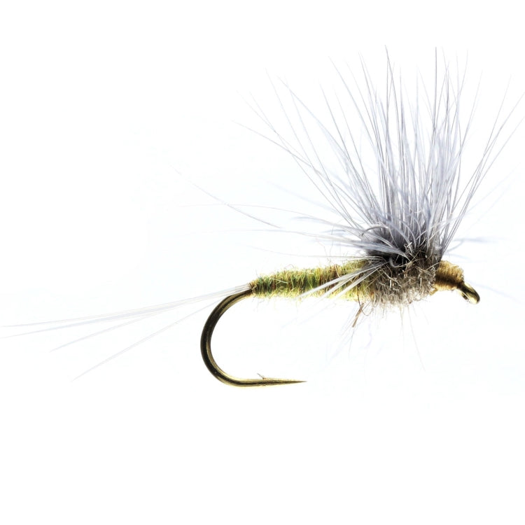 Blue Winged Olive Stacked Hackle Dry Flies