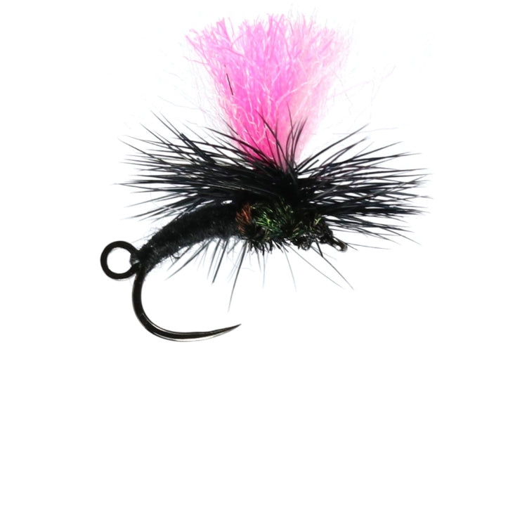 Black Midge Klink and Dink Dry Flies