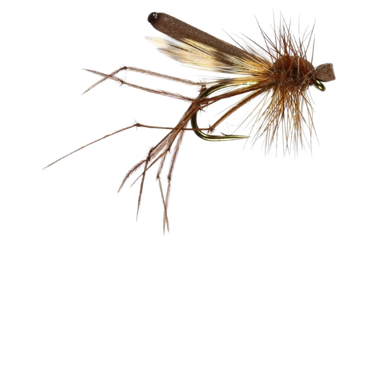 Mini Brown Foam Daddy Flies