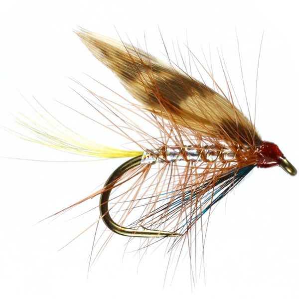 Silver Invicta Winged Wet Flies