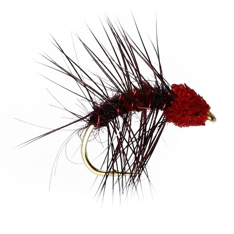 Claret and Red Snatcher Flies