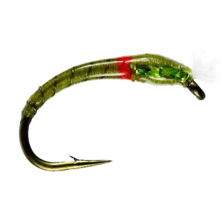 3D Olive Buzzer Flies