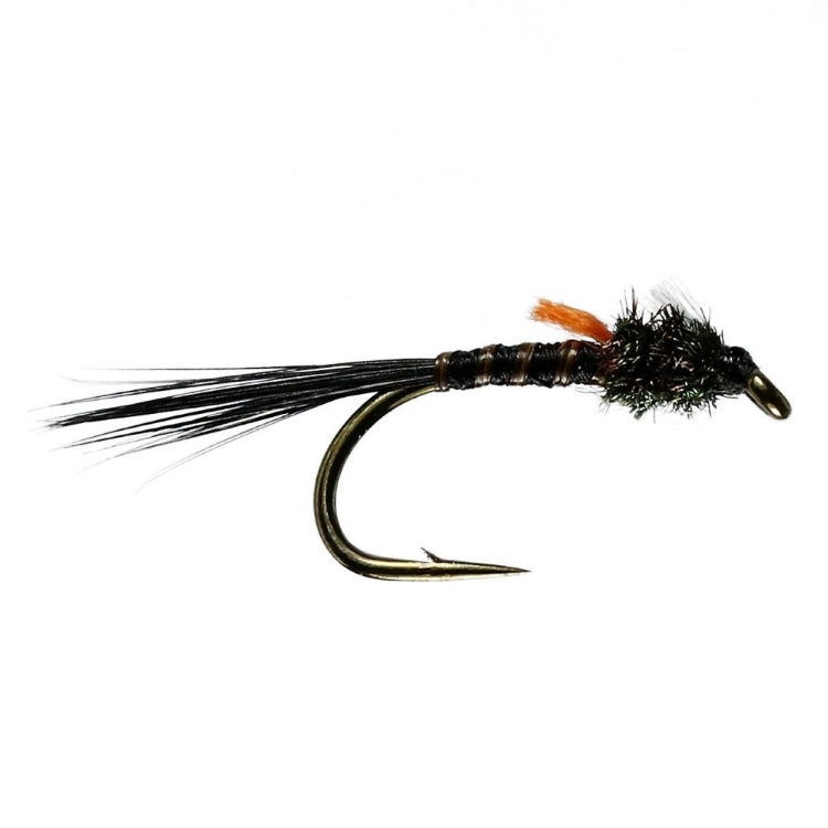 Hatching Black Buzzer Flies