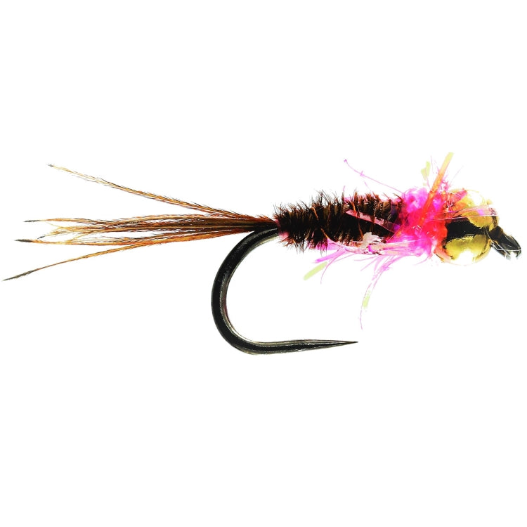 GB Pink Rapid PTN Flies