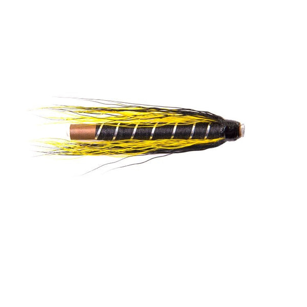Black and Yellow Copper Tube Flies