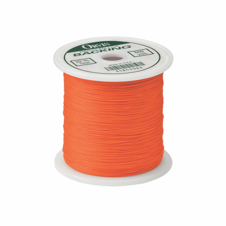 Orvis Dacron Backing 30lb - Orange