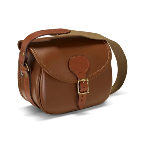 Croots Byland Leather Cartridge Bag - London Tan