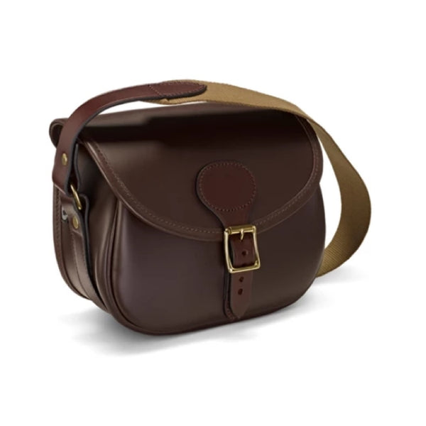 Croots Byland Leather Cartridge Bag - Oxblood