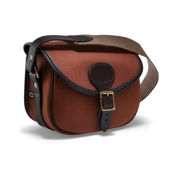 Croots Rosedale Cartridge Bag - Fox Tan/Dark Leather Trim